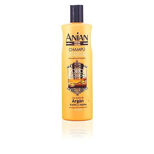 Anian Oro Líquido Champú con Aceite de Argán - 400 ml