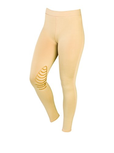 Saxon. Essential Riding Tights Beige Ladies 14/32'