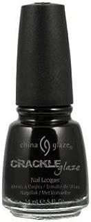 China Glaze Crackle Glaze Nail Polish - Black Mesh - 0.5 oz