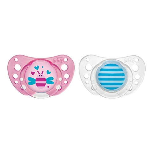 Chicco Soother Physio Air Silicone 12-36m (2pcs.)
