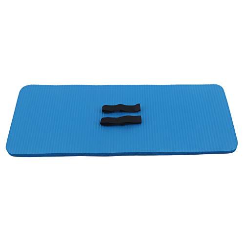 CAVIVI - Esterilla Antideslizante para Yoga, Ejercicio, Espuma Extra Gruesa, para Fitness, Entrenamiento, Gimnasio en casa, Color Azul, tamaño As Description