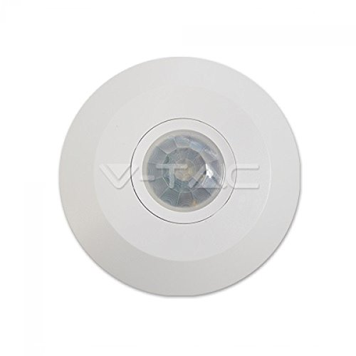 PIR-bewegingssensor, Slim IP20, plafondlamp, 360 °, wit VT-5086