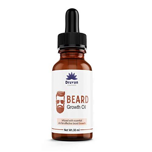 Druvan Cosmetic Diwali Double Beard Care (Almond, Olive, Coconut & Jojoba (Beard Oil) 30ml (Pack of 1)| Made in India (Pack of 1)