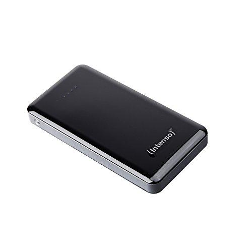 Intenso Powerbank S4000 externes Ladegerät (4000mAh, für Smartphone/Tablet-PC/MP3 Player/Digitalkamera) schwarz