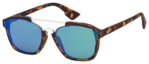 SQUAD - Gafas de sol AS61134 (C3) Gafas De Sol Con Doble Puente