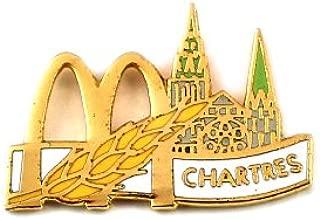 限定 レア ピンバッジ マクドナルド小麦シャルトル大聖堂世界遺産 ピンズ フランス
