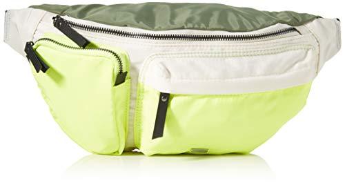 Superdry Damen Sports Luxe Bum Bag Umhängetasche Gelb (Citrus Zest Colour Block)