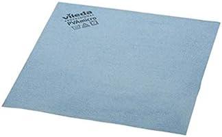 Vileda 235385 Bayetas Microfibra Azul - 5 Unidades, 19.5 x 18 x 5.2 cm