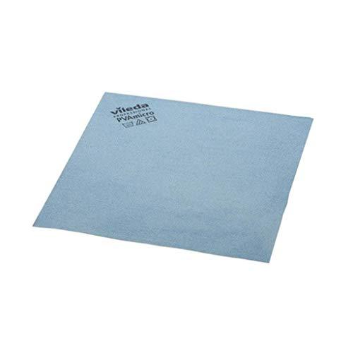 Vileda 235385 Bayetas Microfibra Azul, 19.5 x 18 x 5.2 cm, 5 Unidades