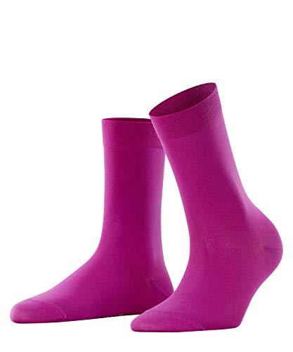 FALKE Damen Socken Cotton Touch - Baumwollmischung, 1 Paar, Rosa (Arctic Pink 8233), Größe: 39-42