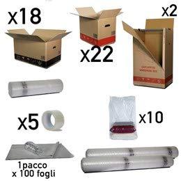 Simba Paper Design srl Scatole Trasloco Appartamento 90 mq