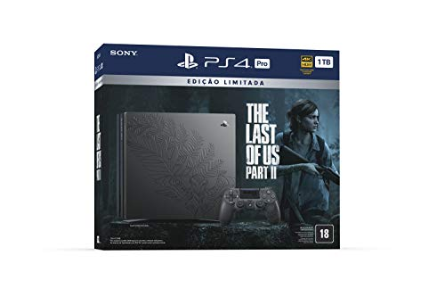 Console Playstation 4 PRO - Ed The Last of Us Part II