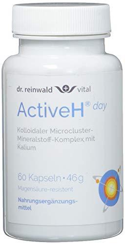 dr.reinwald Active H day – Nahrungsergänzungsmittel mit anregendem Kalium, Zink & Vitamin B6 für den Tag – Für die Zell-Energie & gegen oxidativen Stress – 60 Kapseln
