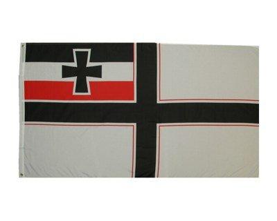 Fahne Kaiserliche Kolonialflagge 1871-1918 90x150 cm