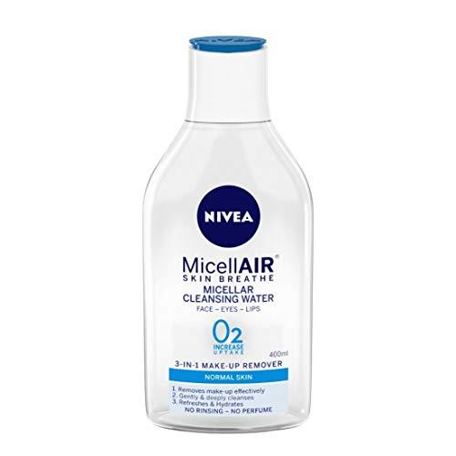 NIVEA Micellar Cleansing Water, Skin Breathe MicellAIR, 400ml