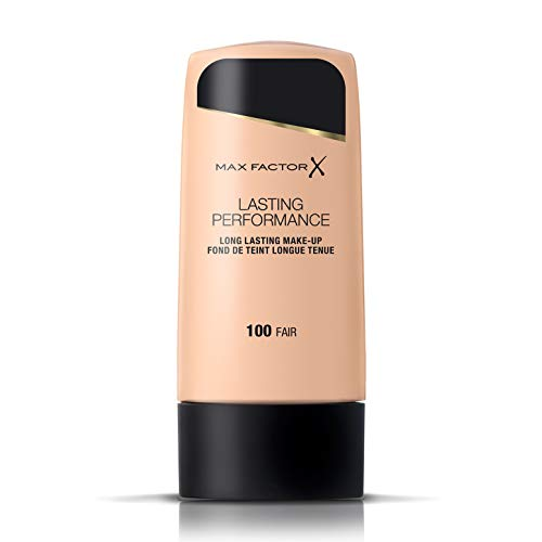 Max Factor - Lasting Performance, base de maquillaje, color 100 justo (35ml)