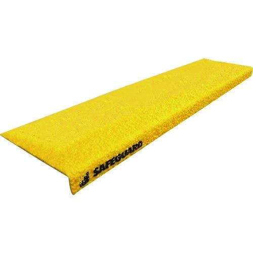 階段用滑り止めカバー 黄 グレーチング設置用取付ネジ付属 12084-G