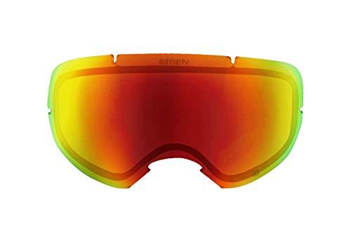 Ethen LS0305 lenzen skiën 03 rood unisex volwassenen, meerkleurig, uniek