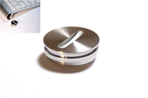 Ersatz-Aluminium-Akkudeckel für Apple iMac Tastatur G6 A1314 A1644 und Magic Trackpad A1339