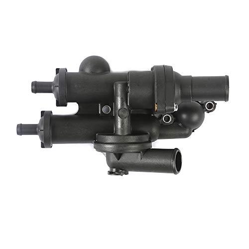 MOCA Thermostat Housing Assembly Compatible with 08-14 Dodge Avenger 2.4L & 09-14 Dodge Journey 2.4L & 07-14 Jeep Compass Patriot 2.0L 2.4L