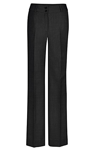GREIFF Damen-Hose Regular Fit, modern with 37,5, Regular fit, 1357, schwarz, Größe 40