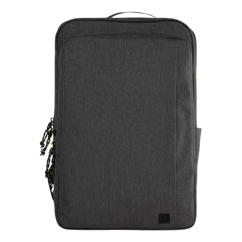 U by UAG [U] Mouve 16 Inch Backpack for Laptops and Tablets up to 16 Inches thanks to Ergonomic Design, Bottle Holder, Chest Strap, Extra Laptop Compartment - Dark Grey