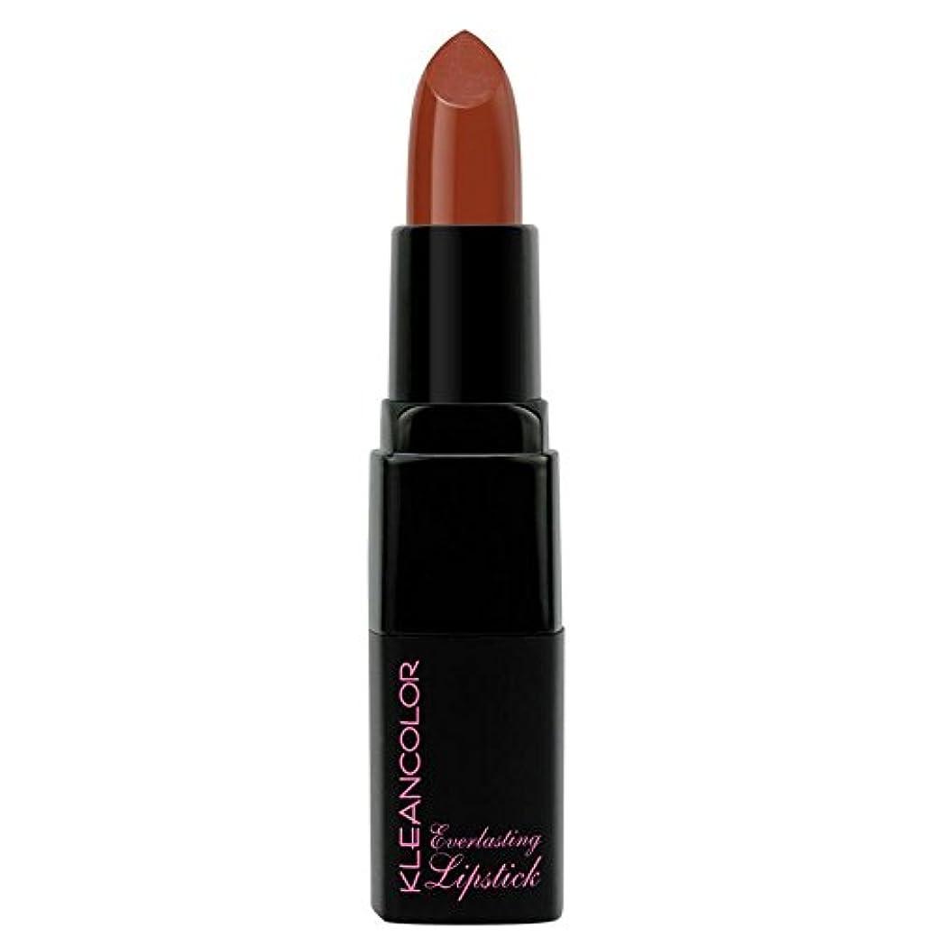 名前を作るしなければならない店員(6 Pack) KLEANCOLOR Everlasting Lipstick - Chocolate (並行輸入品)