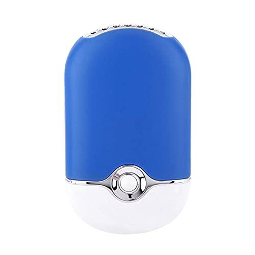 Wendao Nuevo mini verano recargable mini USB ventiladores portátil mano palma silenciosa gran volumen ventilador aire acondicionado escritorio