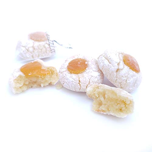 Siciliaanse amandel petit fours gemaakt met sinaasappelen uit Sicilië (doos 400gr). RAREZZE: cannoli en cassate van…