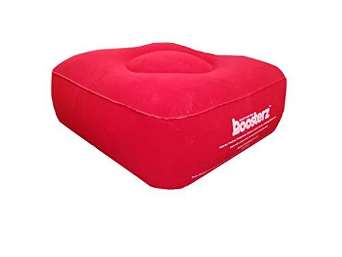 Boosterz Aufblasbares Sitzkissen rot