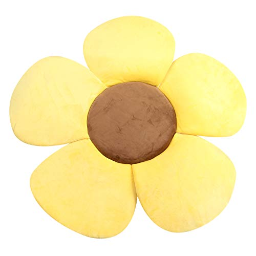 DANMEI Baby Badematte Weiche Blume Badematte Sitzunterstützung Faltbare Blütenblatt Plüschkissen für Baby Badewanne