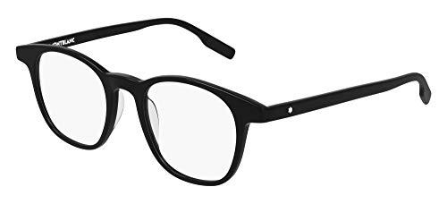 Mont Blanc Gafas de Vista MB0153O Black 48/20/145 hombre