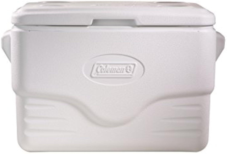 Coleman passive Kühlbox 36Qt Xtreme Marine, Hochleistungskühlbox, kühlt bis zu 3 Tage, mit UV Schutz, Thermobox mit 33 L Fassungsvermgen, mobile passiv Kühlbox mit 2 stabilen Tragegriffen