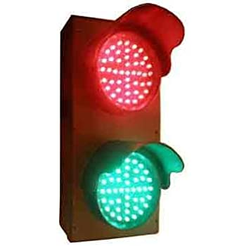 Red Green Led Ac Traffic Signal Light Amazon Com Industrial Scientific