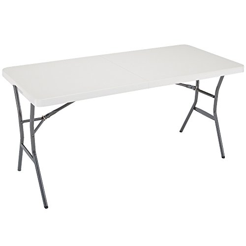 Lifetime 5-Foot Folding Table - Pearl