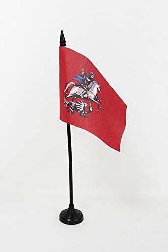 Az Flag Mesa Bandera Moscú, 15 x 10 cm