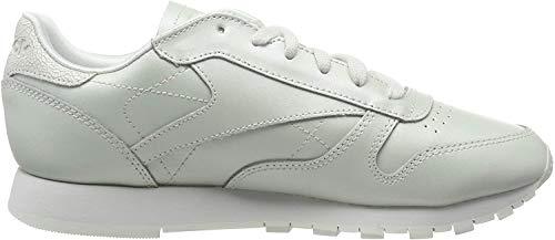 Reebok Damen Classic Leather Fitnessschuhe, Grau (Mid/Opal 000), 39 EU