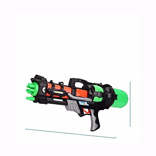 LAMCE Pistola de Agua para niños: Pistola de Agua de Largo Alcance de 10 m, Adecuada para Ondas de Choque Que absorben Agua de Alta Capacidad para niños y niñas, Piscinas, Playas, Arena, Juguetes de