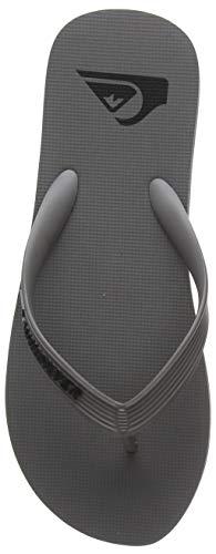 Quiksilver Molokai, Zapatos de Playa y Piscina para Hombre, Gris (Grey Xsss), 42 EU