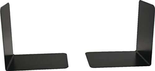 Hangzhou Topline 140 mm Heavy Duty Metal Bookends - Black (Pack of 2)
