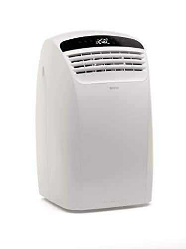 Olimpia Splendid 01920 Dolceclima Silent 10 P Climatizzatore Portatile 10.000 Btu/H, 2.6 Kw, Natural Gas R290, Design Made in Italy, Bianco