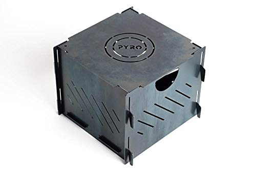 Bad Idea Pyro Cage Mini Portable fire Pit Campfire Stove