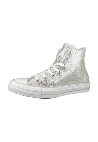 Converse Chucks Women CT AS Stingray METALLIC HI 553346C Silber, Schuhgröße:36