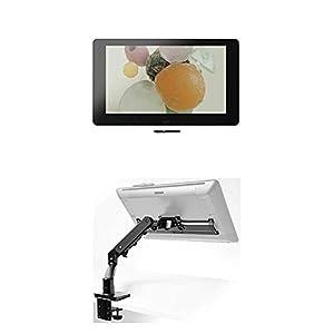 Wacom Grafik-Display Cintiq Pro 32, 32 Zoll Grafik-Touch-Display mit 4K Auflösung und Flex Arm für Cintiq Pro 24 und 32 inkl Pro Pen 2 Stift mit verschiedenen Ersatzspitzen