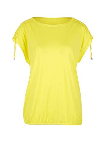 s.Oliver Damen 04.899.32.5347 Kurzarm T-Shirt, Yellow, 36