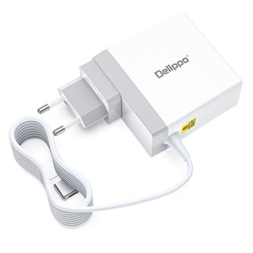 Delippo for Mac Book Air Charger 85W 18.5V 14.6A T-Tip Power Adapter Magsafe 2 Magnetic Connector Replacement Charger for Mac Book Pro 13'' 15'' (26 Months Warranty)