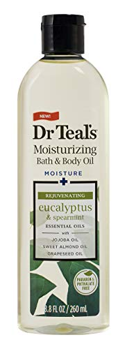 dr. teal's moisturizing bath & body oil