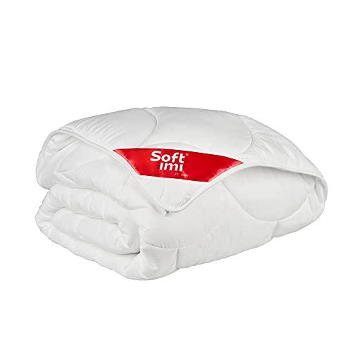 SOFTIMI Bettdecke, Hypoallergene, Antiallergische - Decke für den Winter - Microfaser - Waschbar - Oeko TEX zertifizert (Winterbettdecke, 160 x 200 cm)