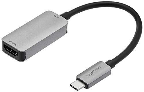 Amazon Basics– USB-C3.1 (Stecker)-auf-HDMI (Buchse)-Adapter, 4K@60Hz