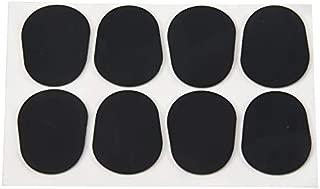 New Design 8pcs Alto Tenor Saxophone Sax Mouthpiece Patches Pads Cushions Black 0.8mm,